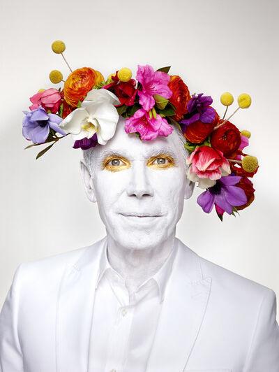 Martin Schoeller, 'Jeff Koons with Floral Headpiece', 2013