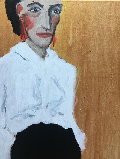 manuel santelices, 'Golden Diana Vreeland', 2021