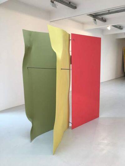 Michael Kienzer, 'Falter 3-teilig Zitrone / Pistazie / Himbeer', 2019