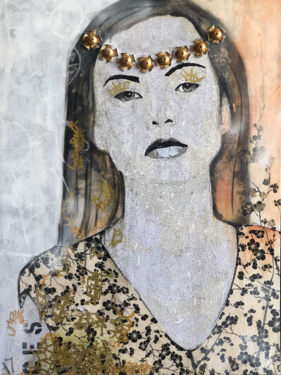 Cecilia Freire, 'Coffee Queen', 2017
