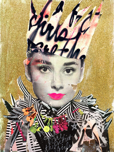 """Holly Suzanne Rader, '""""Audrey with Crown""""', 2018"""
