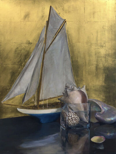 Helen Oh, 'Still Life with Sail Boat', 2020
