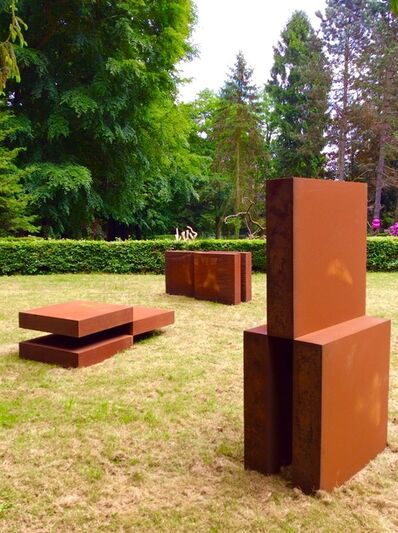 Stephan Siebers, 'CUBE IN THREE PIECES', 2014