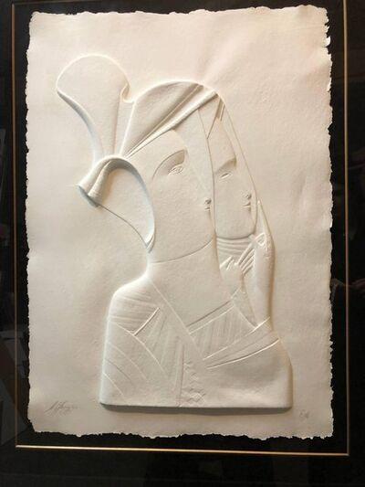 Mihail Chemiakin, 'Post Soviet Non Conformist Russian Cast Paper Sculpture', 1980-1989