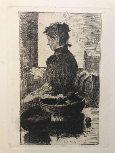 Karl Schmoll Von Eisenwerth, 'No Title ', 1897