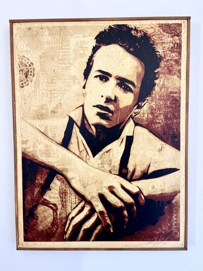 Shepard Fairey, 'Joe Strummer', 2010