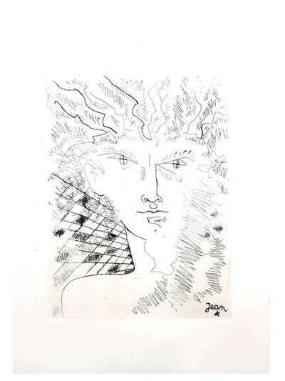 Jean Cocteau, 'Jean Cocteau - Portrait - Original Etching', 1945