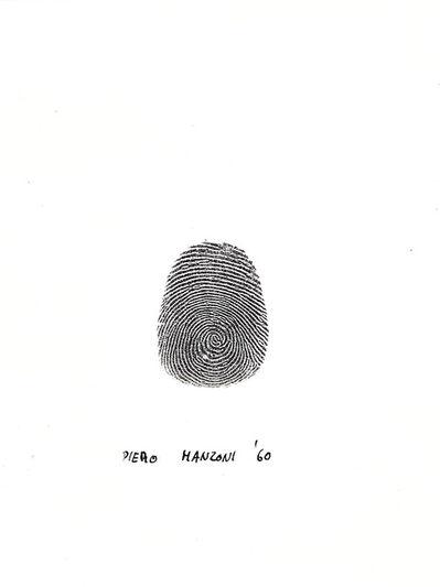 Piero Manzoni, 'Thumbprint', 1961