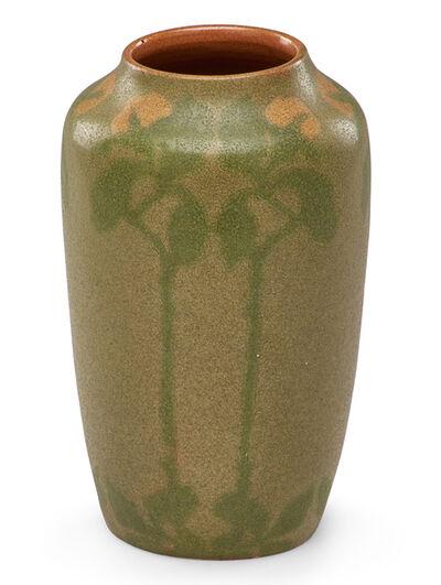 Frederick Walrath, 'Fine vase with stylized flowers', ca. 1910