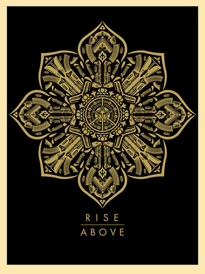 Shepard Fairey, 'Rise Above', 2015