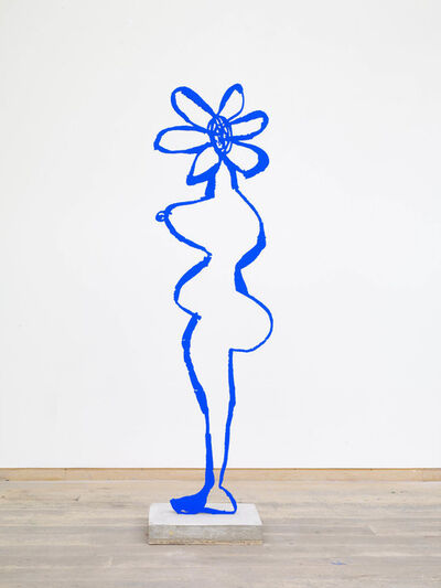 Annie Morris, 'Ultramarine Blue Pigment Flower Head', 2018