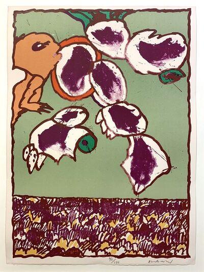 Pierre Alechinsky, 'Objects Volants V', 1977