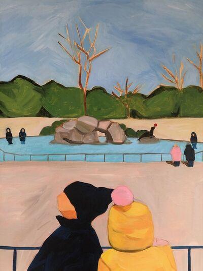 Julie Bowers Murphy, 'Zoo in Winter', 2020