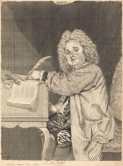 Jean-Antoine Watteau, 'J.-B. Rebel', ca. 1730