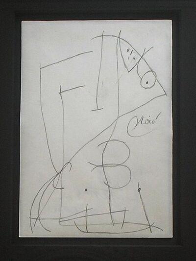 Joan Miró, 'Femme, Oiseaux', 1978