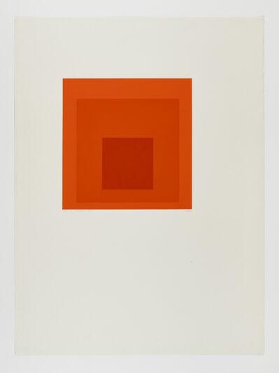 Josef Albers, 'SP-J', 1971