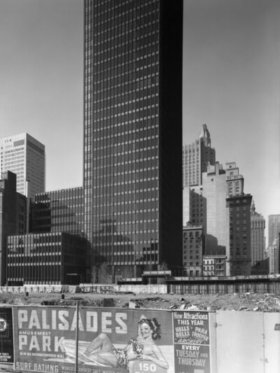 Ezra Stoller, 'Seagram Building, Mies Van Der Rohe with Philip Johnson, New York, NY', 1958