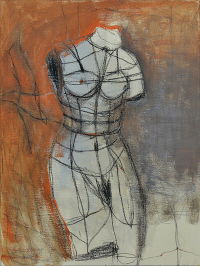 Tulip Duong, 'Venus Torso tied up by herself', 2018