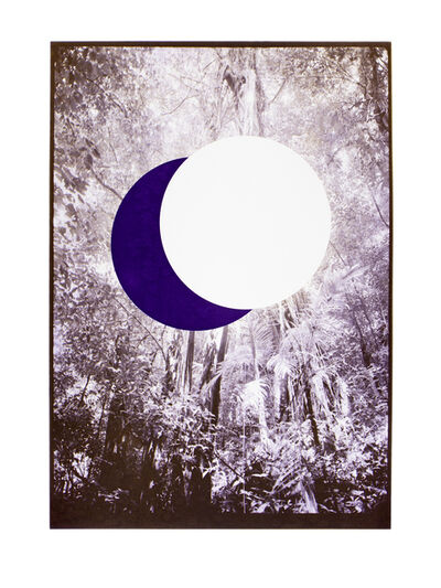 Heli Rekula, 'Two moons (purple)', 2018