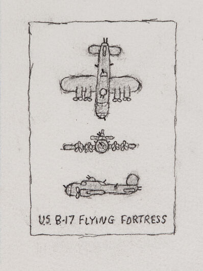 William Anthony, 'U.S. B-17 Flying Fortress', 1999