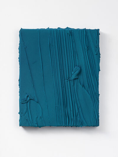 Jason Martin, 'Untitled (Phthalo blue/ Cobalt turquoise/ Cobalt green deep) II', 2019