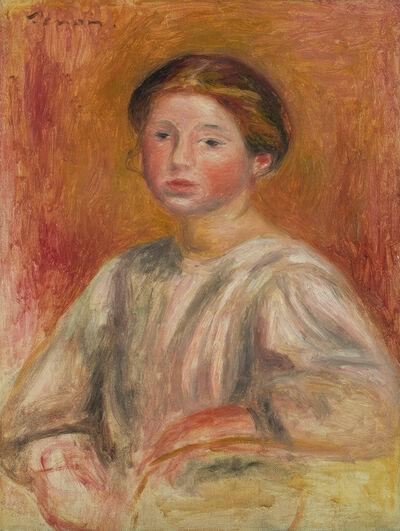 Pierre-Auguste Renoir, 'Buste de Femme', 1911