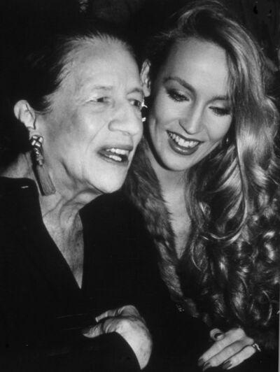 Rose Hartman, 'Diana Vreeland and Jerry Hall at  Studio 54, 1977', 1977