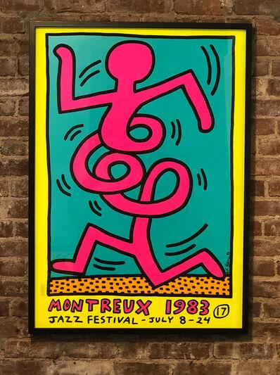 Keith Haring, 'Montreux 17ème / Festival de Jazz', 1983