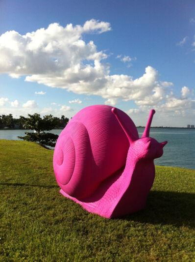 Cracking Art Group, 'Snail (Large) (Pink)'