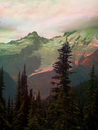 Peter Funch, 'Mt. Rainier Emmons Glacier From Sunrise Park Road', 2015