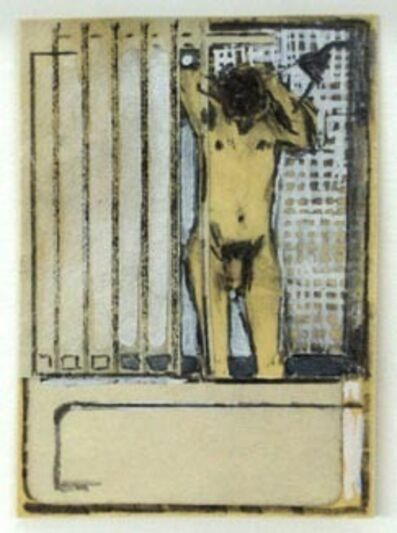 Joe Brainard, 'Untitled (Bathroom Nude II)', 1975
