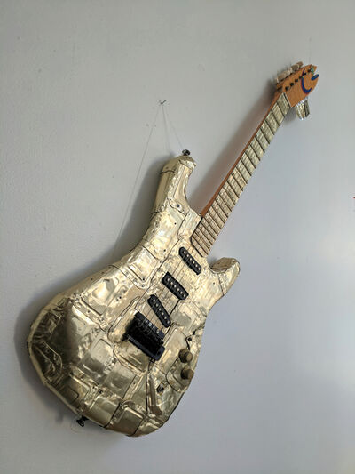 Brian McCormack, 'Sardine Can Plated Guitar', 2019