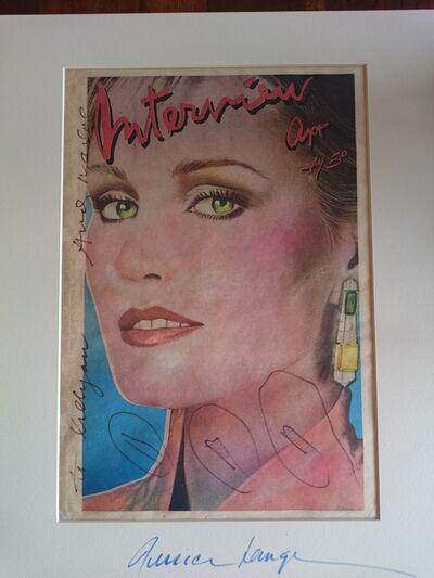 Andy Warhol, 'Jessica Lange', 1979
