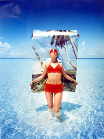 David LaChapelle, 'Posing for Postcards', 1996