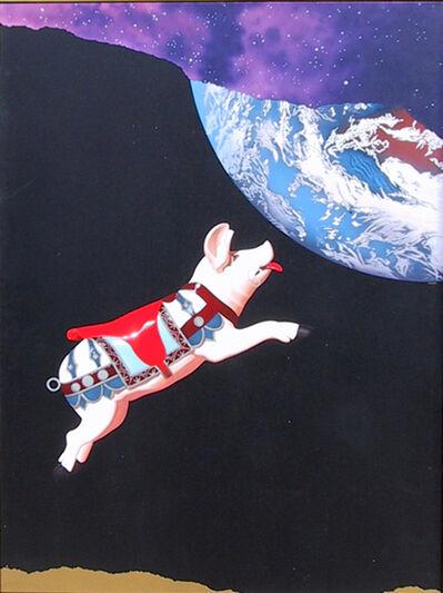 Michael Knigin, 'Ticket to Paradise', 1989