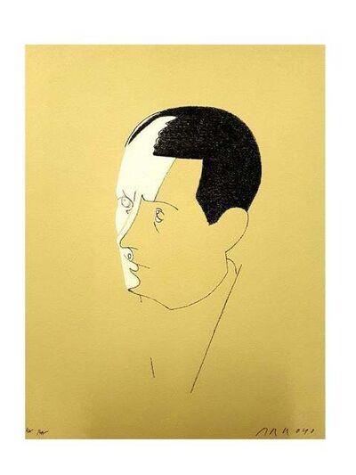 Eduardo Arroyo, 'Eduardo Arroyo - Malraux - Original Handsigned Lithograph', 1984