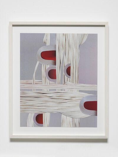 Nicole Wermers, 'Untitled (white strings)', 2017
