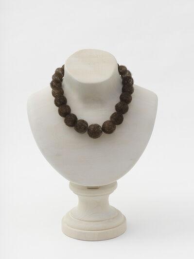 Mona Hatoum, 'Hair necklace (wood)', 2013