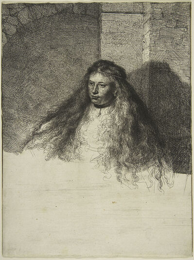 Rembrandt van Rijn, 'The Great Jewish Bride', 1635