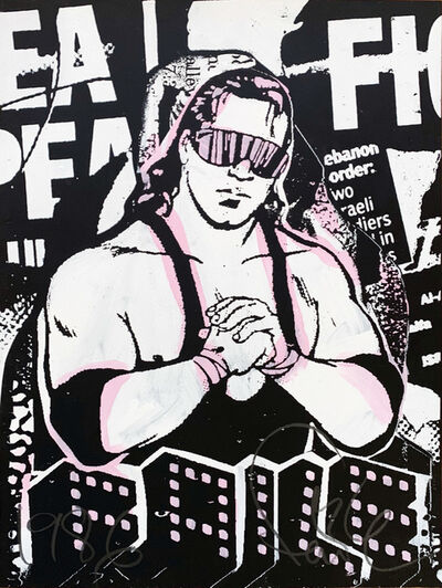 FAILE, 'Bret The Hitman ', 2007