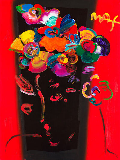 Peter Max, 'Roseville Profile #8', 1999