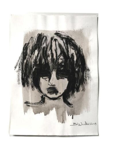Bonnie Walters, 'Charcoal Portrait', 2019
