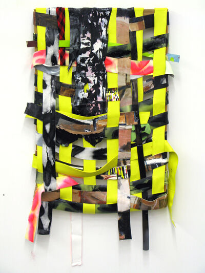 Kendell Carter, 'WEave Painting (Cultural Charade, Critical Collapse)', 2012