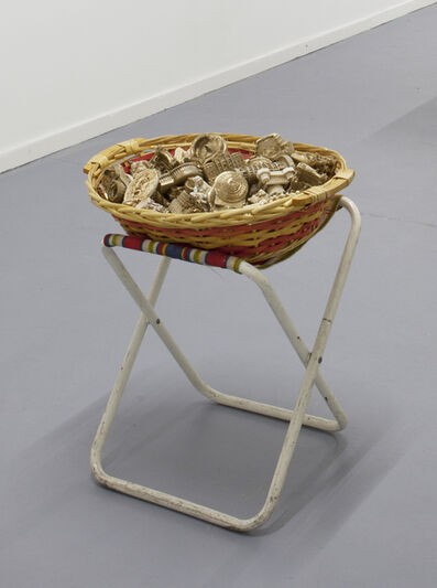 Mitchell Anderson, 'Golden monument piece', 2015