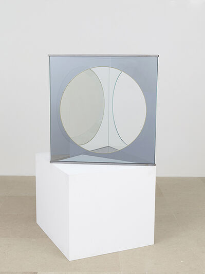 Dan Graham, 'Triangle with Circular Cut-outs', 1991