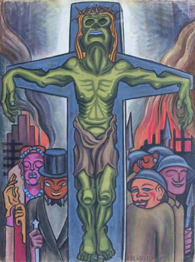 Joseph Plaskett, 'Untitled (Crucifixion) '