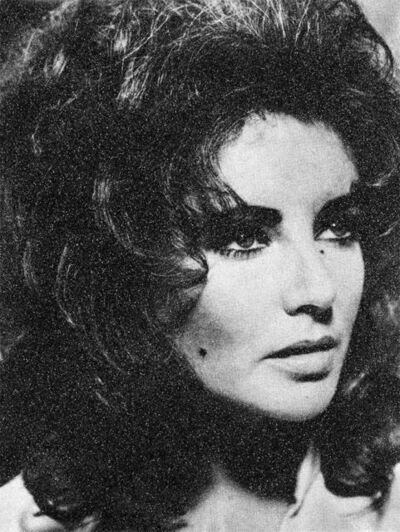 Russell Young, 'Elizabeth Taylor, Siren Black & White', 2020