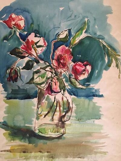 Katherine Librowicz, 'Bouquet of Roses', 20th Century