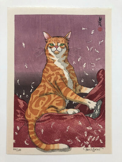 Paul Binnie, 'Cat Feathers Red', 2018