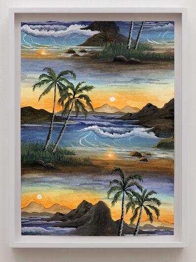 Neil Raitt, 'Balmy Beach (Tangerine Sun)', 2020